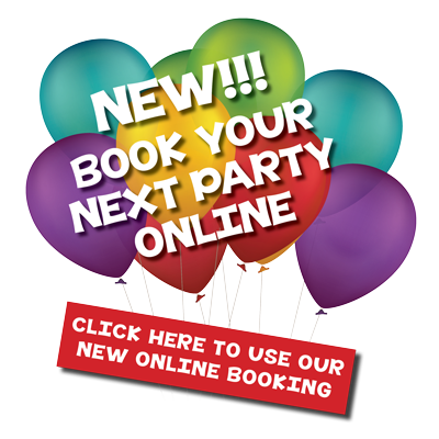 Book your next party online.